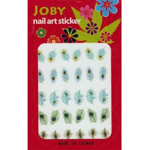 Nail Sticker/Nail Art - Signature Collection - Peacock Feathers