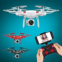 RC Drone,110 Degree Wide Angle Lens 2.0 mp Camera WiFi FPV Live Helicopter Quadcopter Toy Gift