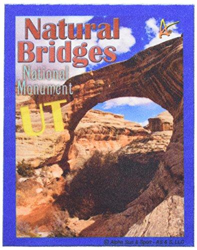 - Best Ultimate Iron On Natural Bridges Travel Collectable Souvenir Patch - National Parks & Monuments Souvenir Postcard Type Quality Photos Graphics - Natural Bridges