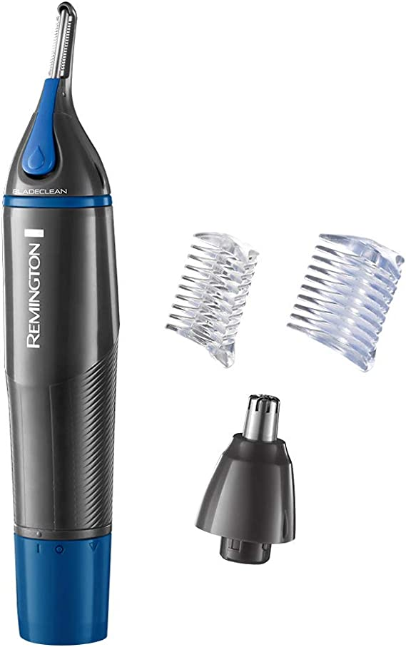 Remington N3850 a prueba de ducha con pilas Nano Nariz y Ear Trimmer: Amazon.es: Belleza