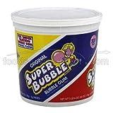 Super Bubble Gum Original Flavor Fruit Candy, 54 Ounce -- 8 per case.