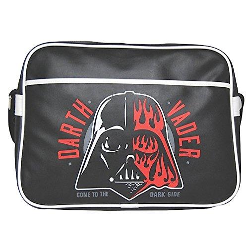 Retro Darth Vader Dark Side Star Wars Messenger Bag (Darth Vader Dark Side Of The Moon)