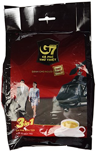 G7 Instant Coffee 3-in-1, 22 Servings