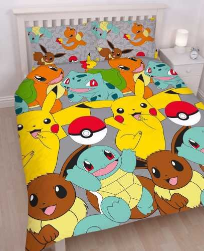 Pokemon-Catch-UK-DoubleUS-Full-Duvet-Cover-Set