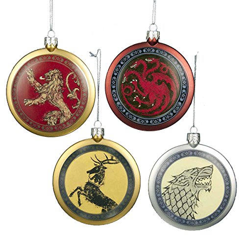 Thrones Crests Shield Christmas Ornaments product image
