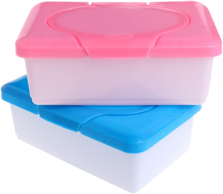 KINRADE Dry Wet Tissue Paper Case Baby Wipes Napkin Storage Box Plastic Holder Container