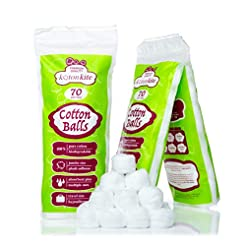 Jumbo Cotton balls - 210 ct (3 packs of ...