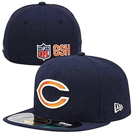 "New Era 59FIFTY Fitted NFL On Field Chicago Bears ""C"" ..."
