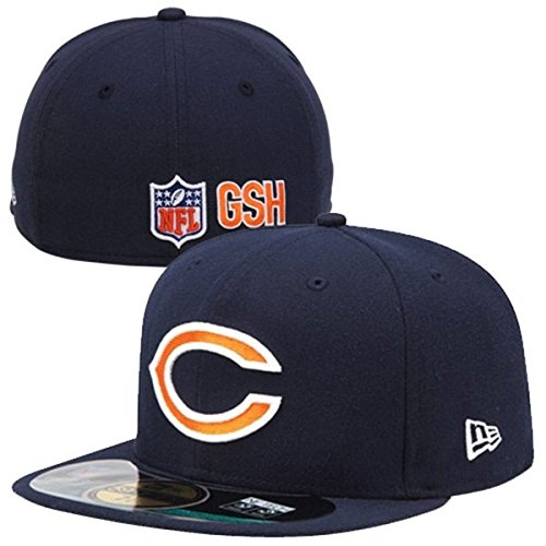 New Era NFL CHICAGO BEARS Authentic On Field 59FIFTY Game Cap, Größe:7 1/8