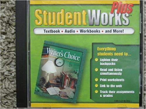 Glencoe Student Works Writer's Choice: Grammar and Composition ...