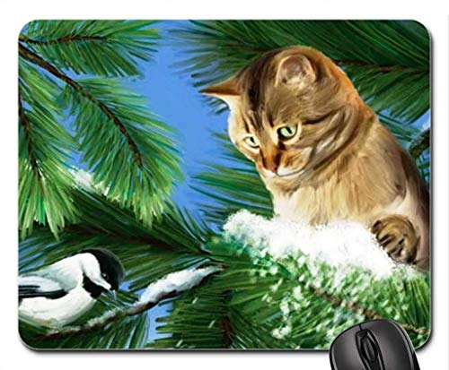 (Cats Mouse Pad),Looking. Mouse Pad, Mousepad ()