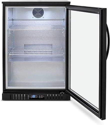 Procool Refrigeration Single Door Glass Front Back Bar Beverage Cooler 24 Wide