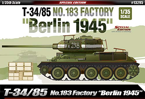 - Academy T-34/85 No. 183 Factory
