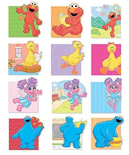 Abby Cadabby Notebooks (Sesame Steet Mini Notebooks 12 Notebooks Elmo, Cookie Monster, Big Bird, Abby Cadabby Notebooks)
