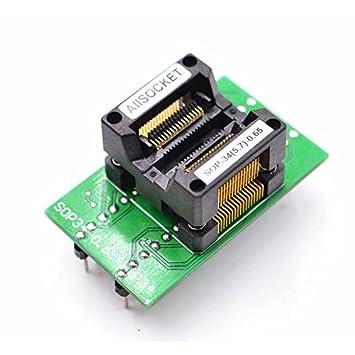 SSOP34 to DIP34 Gold Plating Adapter //TSSOP34 to DIP34