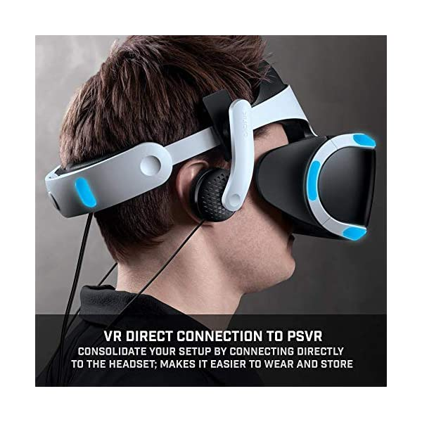 Bionik Mantis Attachable VR Headphones: Compatible with PlayStation VR, Adjustable Design, Connects Directly to PSVR, Hi-Fi Sound, Sleek Design, Easy Installation 5