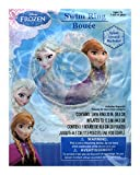 Disney Frozen Elsa and Anna Inflatable Swim Ring - 20 inch, Blue, Child