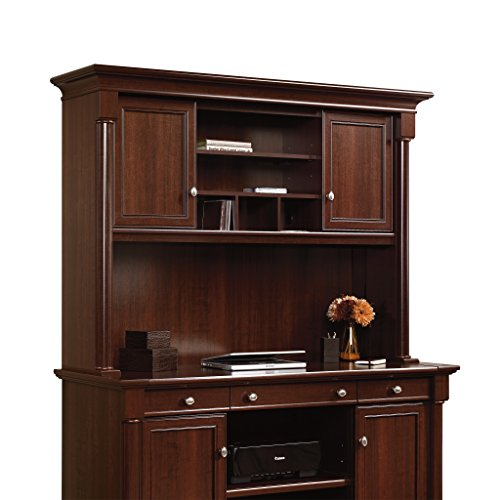 Sauder Palladia Hutch (does not include desk) in Select Cherry by Sauder