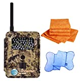 Spartan HD GoCam (AT&T Version, Model#GC-ATTi) 3G Wireless, Infrared (2-year warranty) - Bonus Package Bundled with UTowels Edgeless Microfiber Towels