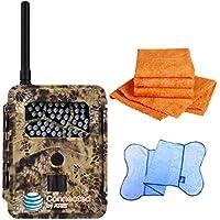 Spartan HD GoCam (AT&T Version, Model#GC-ATTi) 3G Wireless, Infrared (2-year warranty) - Bonus Package Bundled with UTowels Edgeless Microfiber Towels