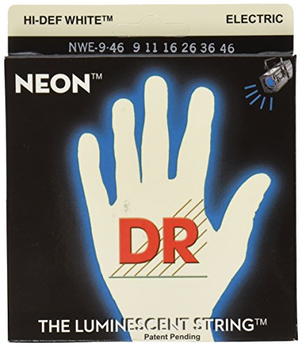 DR Strings NWE-9/46 DR NEON Electric Guitar Strings, Light/M