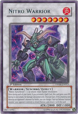 Yu-Gi-Oh! - Nitro Warrior (DP08-EN013) - Duelist Pack 8 Yusei Fudo - Limited Edition - Rare