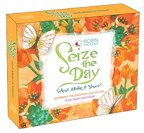 Seize the Day 2020 Boxed Daily Calendar (Words Of Wisdom Quote Of The Day)