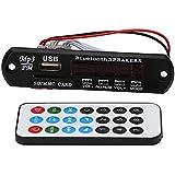 SODIAL(R) Car Audio Bluetooth USB SD TF MP3 WMA Decoder Board 12V Wireless