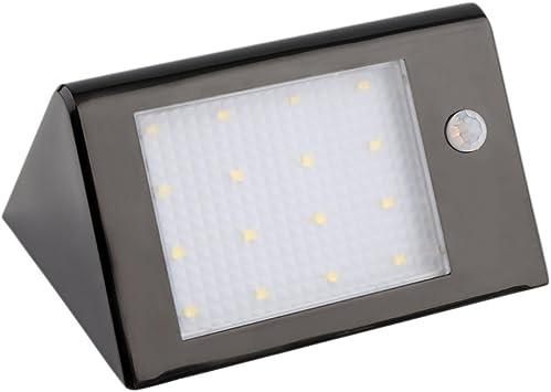 Tsing XY-SL01- lámpara luminosa de jardín de 20 LED, 3.5 W, Solar ...