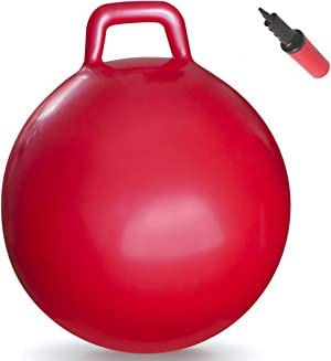 WALIKI Hopper Ball  Hippity Hop   Jumping Hopping Therapy Ball   Relay Races   Red (Ages: 16-101 (29