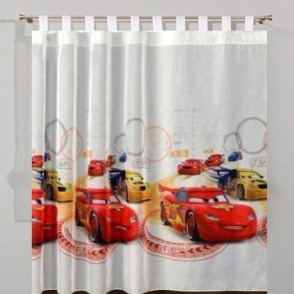 CARS 3D Rideau voilage 75cm de largeur x 155cm de hauteur DISNEY