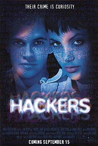 Hackers - Authentic Original Movie Poster
