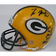 Ty Montgomery Green Bay Packers, Signed, Autographed, Football Mini Helmet, a COA with the Proof Photos of Ty Signing the Helmet Will Be Included