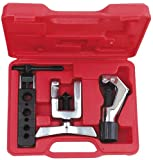 AMPRO T75824 Tubing Cutter and Flaring Tool Kit