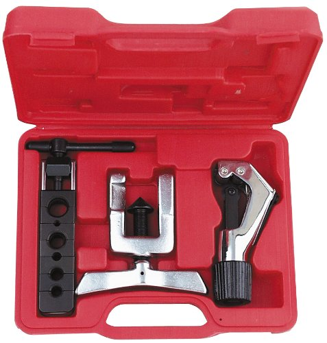 AMPRO T75824 Tubing Cutter and Flaring Tool Kit by AmPro (Image #1)