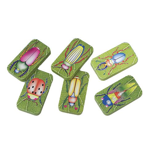 US Toy Assorted Insect Bug Design Clicker Noise Makers (1 Dozen), Green, 1-Pack of 12]()