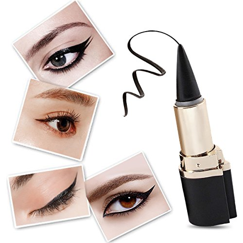 Black Waterproof Eyeliner Gel, LuckyFine Eye Liner Paste Pen Pencil Long lasting Women Eye Makeup