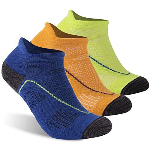 キャラクター故国怖いluccalilyユニセックスアーチサポートクッションLow Cut Athletic Running Socks 1 , 3ペア