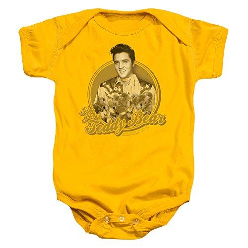 Infant: Elvis Presley - Teddy Bear Onesie Infant Onesie Size 0-6 Mos