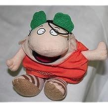 "Little Caesars' Plush ""Pizza-Pizza"" Mascot Bean Bag Doll-April 2009"