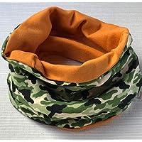 Bufanda circular Camaflujeada Naranja