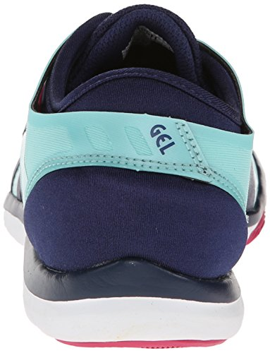 Asics Gel-Fit Nova Deportivas Zapatos Ice Blue-Navy-Hot Pink