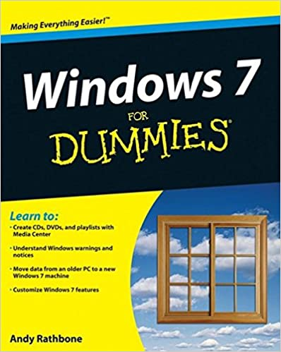 Book Windows 7 for Dummies