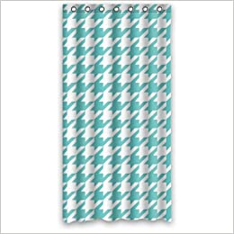 Houndstooth Shower Curtain