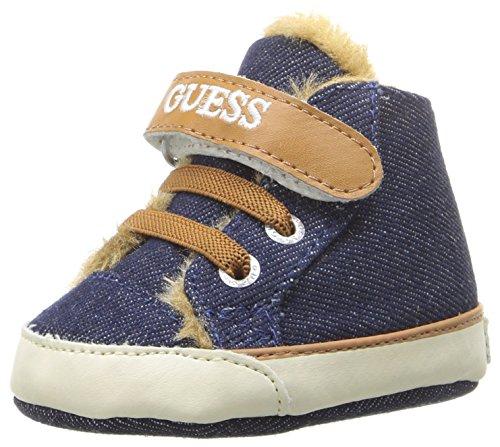 Guess Kids Shoes (GUESS Boys' Flyne 3 Sneaker, Blue, 18 EU/3 M US Infant)