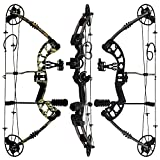 RAPTOR Compound Hunting Bow Kit: LIMBS MADE IN USA | Fully adjustable...