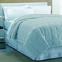 Luxury Down Alternative Blanket with Plush Reverse (Full/Queen, Aqua)