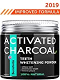 Activated Charcoal Teeth Whitening Powder - Product of UK by Sunatoria – Natural Coconut Teeth...