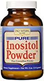 Only Natural Inositol Pure Powder, 4 OZ by Only Natural