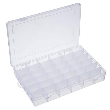 Amazoncom Jewelry Organizer Opret Plastic Jewelry Box36 grids